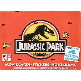 Jurassic Park Hobby Box (1993 Topps)
