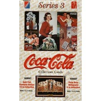 Coca-Cola Series 3 Hobby Box (1994 Collect-A-Card)