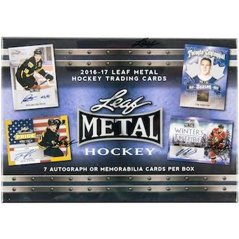 2016/17 Leaf Metal Hockey Hobby Box