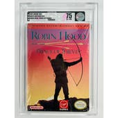 Nintendo (NES) Robin Hood Prince of Thieves VGA Graded 75 EX+/NM White Seal