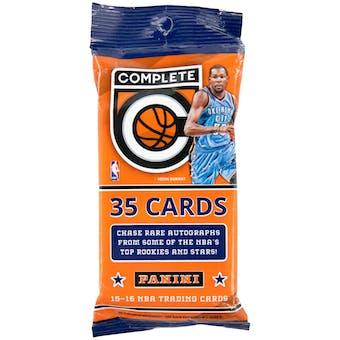2015/16 Panini Complete Basketball Jumbo Pack