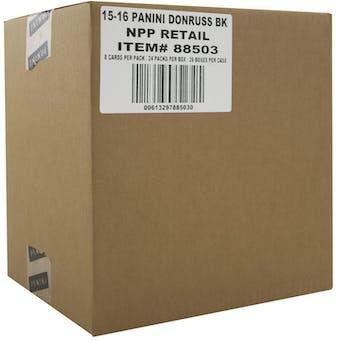 2015/16 Panini Donruss Basketball 24-Pack 20-Box Case