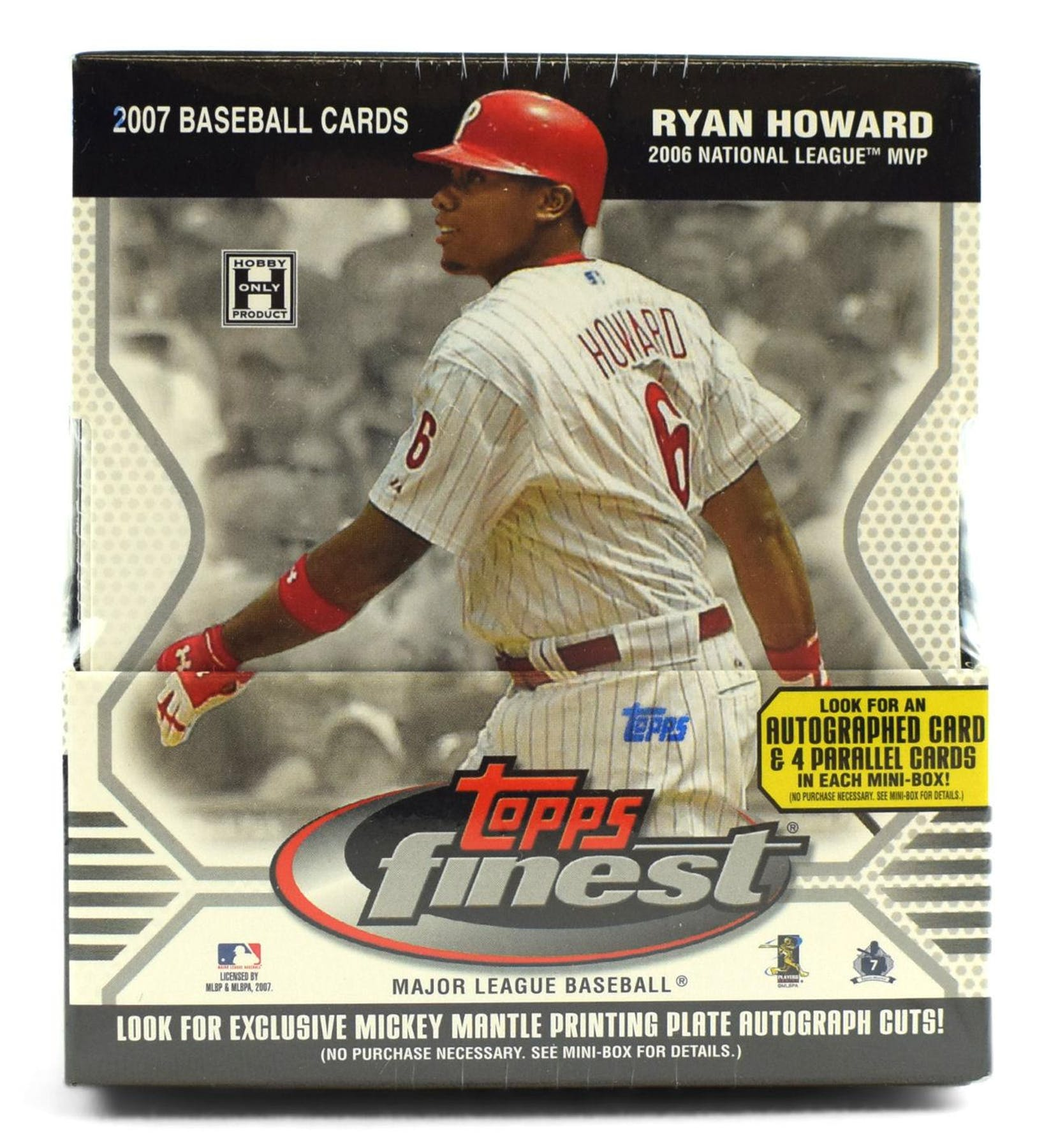 2007 Topps Finest Baseball Hobby Box Da Card World
