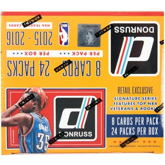 2015/16 Panini Donruss Basketball 24-Pack Box
