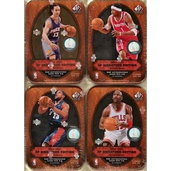 2006/07 Upper Deck SP Signature Basketball Hobby Box (Tin)