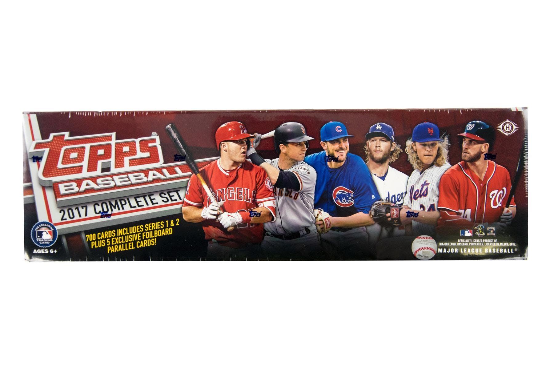 2017 Topps Factory Set Baseball Hobby Box Da Card World