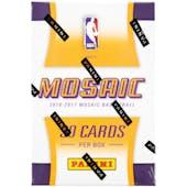 2016/17 Panini Replay Prizm Mosaic Basketball Hobby Box