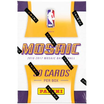 2016/17 Panini Replay Prizm Mosaic Basketball Hobby Box