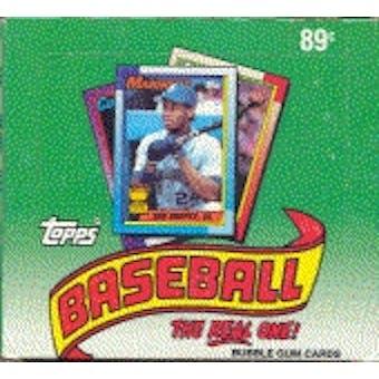1990 Topps Baseball Cello Box