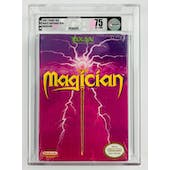 Nintendo (NES) Magician VGA Graded 75 EX+/NM White Seal