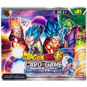 Dragon Ball Super TCG: Galactic Battle Booster Box (Bandai)