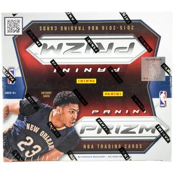 2015/16 Panini Prizm Basketball 24-Pack Retail Box
