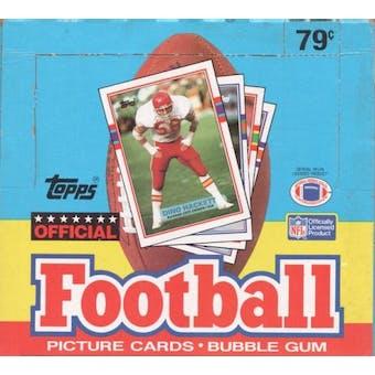 1989 Topps Football Cello Box