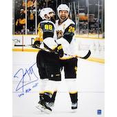 John Scott Autographed All Star 11x14 Hug Photo