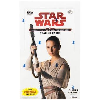 Star Wars Journey to The Last Jedi Hobby Box (Topps 2017)