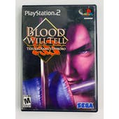Sony PlayStation 2 (PS2) Blood Will Tell Complete