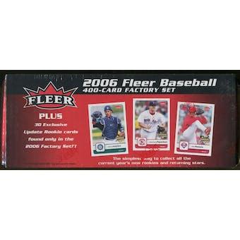 2006 Fleer Baseball Factory Set (Box)
