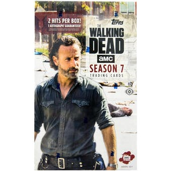 The Walking Dead Season 7 Trading Cards Hobby Box (Topps 2017)
