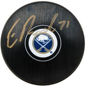 Evan Rodrigues Autographed Buffalo Sabres Hockey Puck