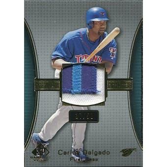 2004 SP Game Used Patch Premium #CD Carlos Delgado Blue Jays 37/50