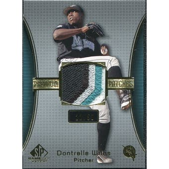 2004 SP Game Used Patch Premium #DW Dontrelle Willis Marlins 22/50