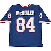 Keith McKeller Autographed Buffalo Bills Football Jersey