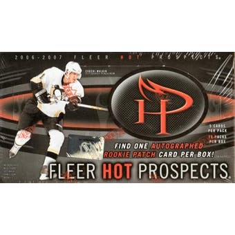2006/07 Fleer Hot Prospects Hockey Hobby Box (UD)