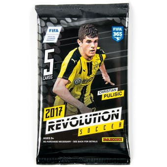 2016/17 Panini Revolution Soccer Hobby Pack