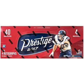 2017 Panini Prestige Football Hobby Box