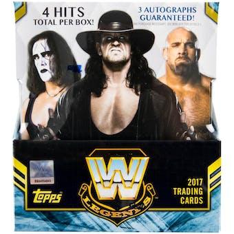 2017 Topps WWE Legends Wrestling Hobby Box