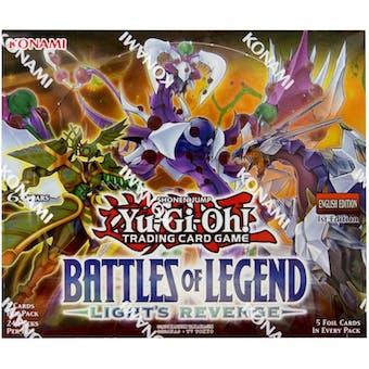 Yu-Gi-Oh Battles of Legend: Light's Revenge Booster Box