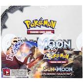 Pokemon Sun & Moon: Burning Shadows Booster Box