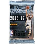2016/17 Panini Studio Basketball Hobby Pack
