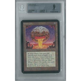 Magic the Gathering Alpha Single Chaos Orb BGS 9 (9, 9, 9, 9)