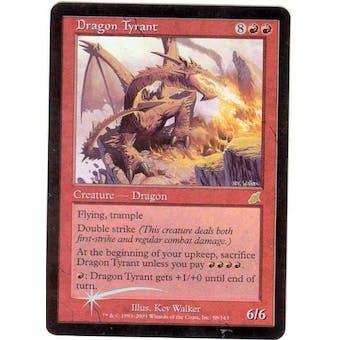 Magic the Gathering Scourge Single Dragon Tyrant Foil