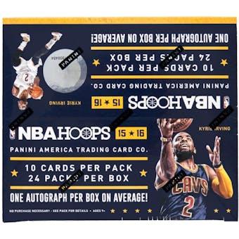 2015/16 Panini Hoops Basketball 24-Pack Box