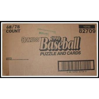 1990 Donruss Baseball Blister 48 Pack Case