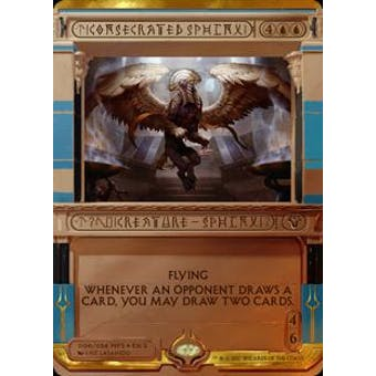 Magic the Gathering Amonkhet Invocation Single Consecrated Sphinx FOIL - NEAR MINT (NM)