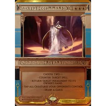 Magic the Gathering Amonkhet Invocation Single Cryptic Command FOIL - NEAR MINT (NM)