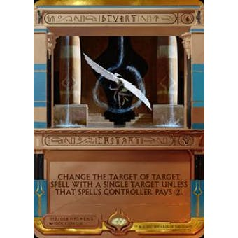 Magic the Gathering Amonkhet Invocation Single Divert FOIL - NEAR MINT (NM)