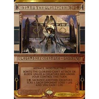 Magic the Gathering Amonkhet Invocation Single Bontu the Glorified FOIL - NEAR MINT (NM)