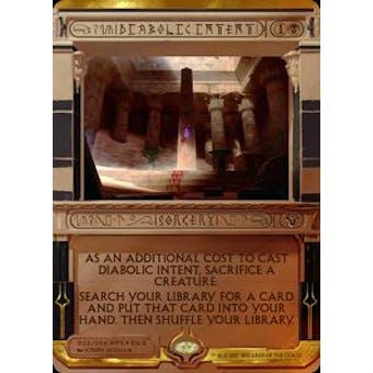 Magic the Gathering Amonkhet Invocation Single Diabolic Intent FOIL - NEAR MINT (NM)