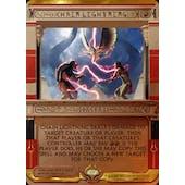 Magic the Gathering Amonkhet Invocation Single Chain Lightning FOIL - NEAR MINT (NM)