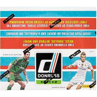 2016/17 Panini Donruss Soccer 36-Pack Box