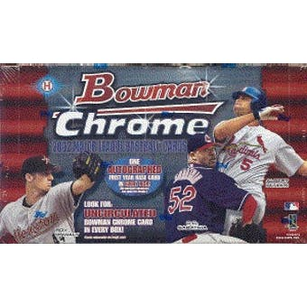 2002 Bowman Chrome Baseball Hobby Box