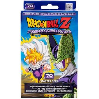 Panini Dragon Ball Z: Awakening Starter Deck - Lot of 100