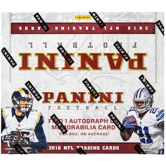 2016 Panini Football 24-Pack Box