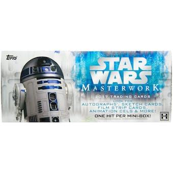 Star Wars Masterwork Hobby Box (Topps 2017)