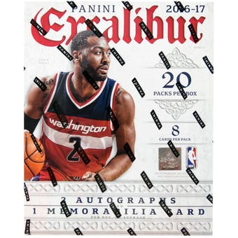2016/17 Panini Excalibur Basketball Hobby Box