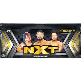 2017 Topps WWE NXT Wrestling Hobby Box